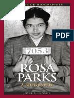 (Greenwood Biographies) Joyce a. Hanson-Rosa Parks_ a Biography (Greenwood Biographies) -Greenwood (2011)