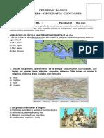 Prueba de Historia Grecia