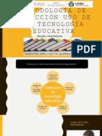 Metodología de Selección Uso de La Tecnología Educativa