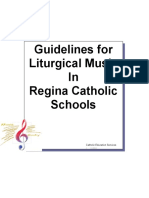 Guidelines for Liturgical Music Final