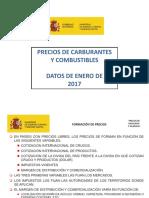 Enero 2017 Precios Hidrocarburiferos