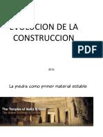 Evolucion de La Construccion