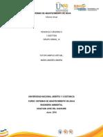 Informe Virtual. Practica Sistema de Abastecimiento de Agua