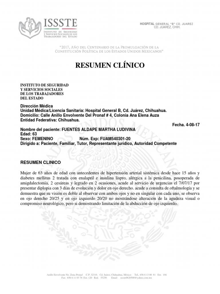 Moderno Formato De Resumen De Ffa Regalo - Colección De Plantillas ...