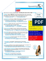 Colombian Spanish Slang Cheat Sheet
