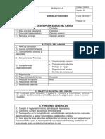 Manual de Funciones Cortador