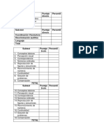 Protocolos Pre y Funciones