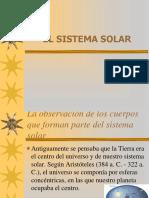 La Observación del sistema solar
