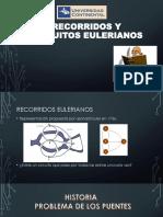 Recorridos y Circuitos Eulerianos