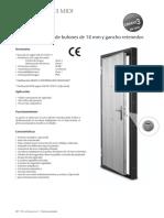 Ficha Técnica de Porta de Segurança TESA