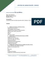 CEGOS MODULO II Gnu Linux II Administracion de Servidores