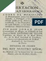 Facsimilar disertación Tratado de Tordesillas