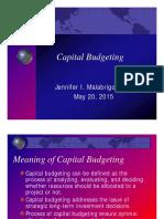 Capitalbudgeting-my Reports JenM7611