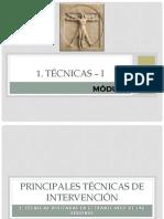 1. Técnicas I
