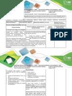 Guía de Actividades y Rúbrica de Evaluación - Tarea 2 – Caracterización de Cuerpos y Contaminantes