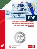 Ficha Programa Curso E Learning Enfermería en Atención de Urgencias Médicas OTEC Innovares
