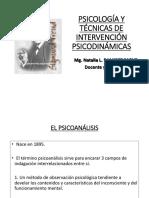 Psicodinámicas 1era Clase