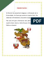 Album Animales de La Costa Sierra Selva Listo