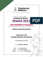 EXAMEN CTO BECAS ENAM 2017