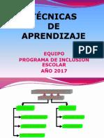 Tecnicas de Aprendizaje_2017
