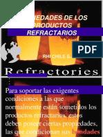 Propiedades de los Productos Refractarios.ppt
