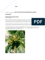 10 interesting facts about Coconuts.docx