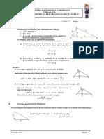 Módulo Relaciones métricas del triángulo rectángulo_3°PG