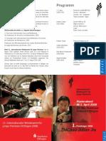 2009 Konzert Programm