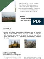 Fundo San Agustin vs Sunat - Lourdes Hernandez