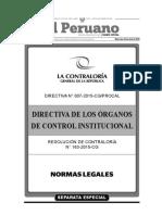 262788232 Directiva de Los Organos de Control Institucional