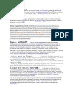 Terminos Comunes en La Web