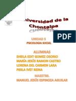 Psicologia Social Sintesis Unidad 5