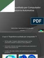 Engenharia Auxiliada Por Computador Na Industria Automotiva
