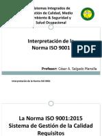 Iso 9001 Csm (Presentacion)