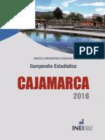 Compendio Estadistico Cajamarca 2016