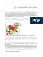 Design Features of Advanced Ultrasupercritical Plants