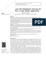 Business Development Success in Smes