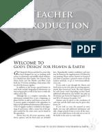 God's Design for Earth Teachers Sample