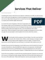 ARTIGO - SHOSTACK - Designing Services That Deliver