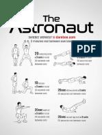 Astronaut Workout