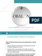 Obalon Removal Procedures Es
