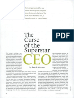 Curse of Leadership Ceo