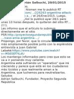 Caso AMIA Argentina La Verdad Sobre El Extraño Suicidio Asesinato Del Fiscal Nisman