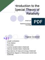 Lec07 Special Relativity