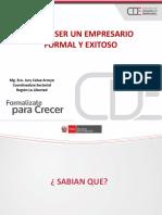 Empresario Formal y Exitoso