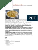 Chuño Para Combatir La Gastritis