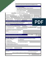 Formulario de Solicitud Certificado Residencia Fiscal (2013)