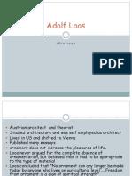1.Adolf Loos