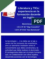 Literatura y TICs