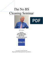 Cleaning Seminar